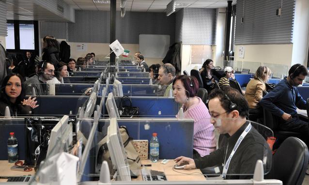 Call center comunicato stampa slc audizione camera dei for Camera dei deputati rassegna stampa