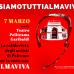 #siamotuttiAlmaviva il 7 marzo alle 21.00 al Politeama