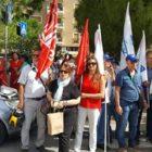 Poste: Presidio di protesta alla sede Regionale