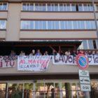 """Almaviva, """"Al Mise proposte irricevibili."""" Scattata l'occupazione della sede di via Marcellini"""
