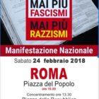 #maipiufascismi a Roma: le foto