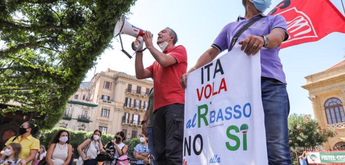 Vertenza Alitalia-ITA, applicazione clausola sociale Almaviva Palermo
